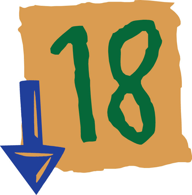 image of 18 and over icon