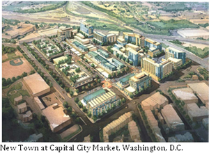 New Town at Capital City Market, Washington, D.C.