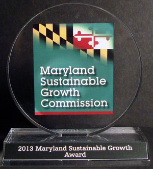 2013 Maryland Sustainable Growth Commission Award