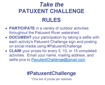 Patuxent Challenge Rules